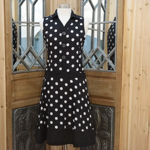 Dresses & Skirts - *2 for 15* Vintage Look 50's Style Polka Dot Dress